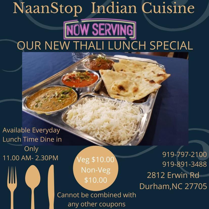 Naan Stop Indian Cuisine