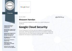 Google Cloud Security