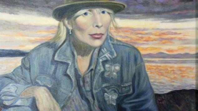 Joni Mitchell Her special place self portrait