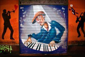 sterling-lanier-Jazz Mural side of building in Brazil-unsplash