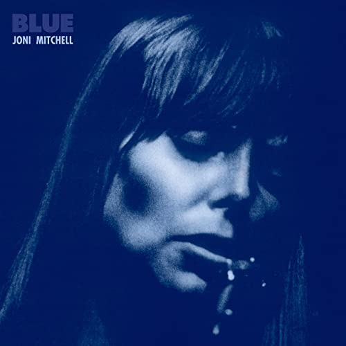 Blue album cover Joni Mitchell