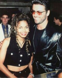 anet Jackson and George Michael