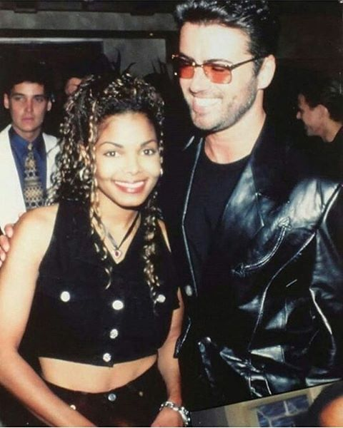 Janet Jackson and George Michael