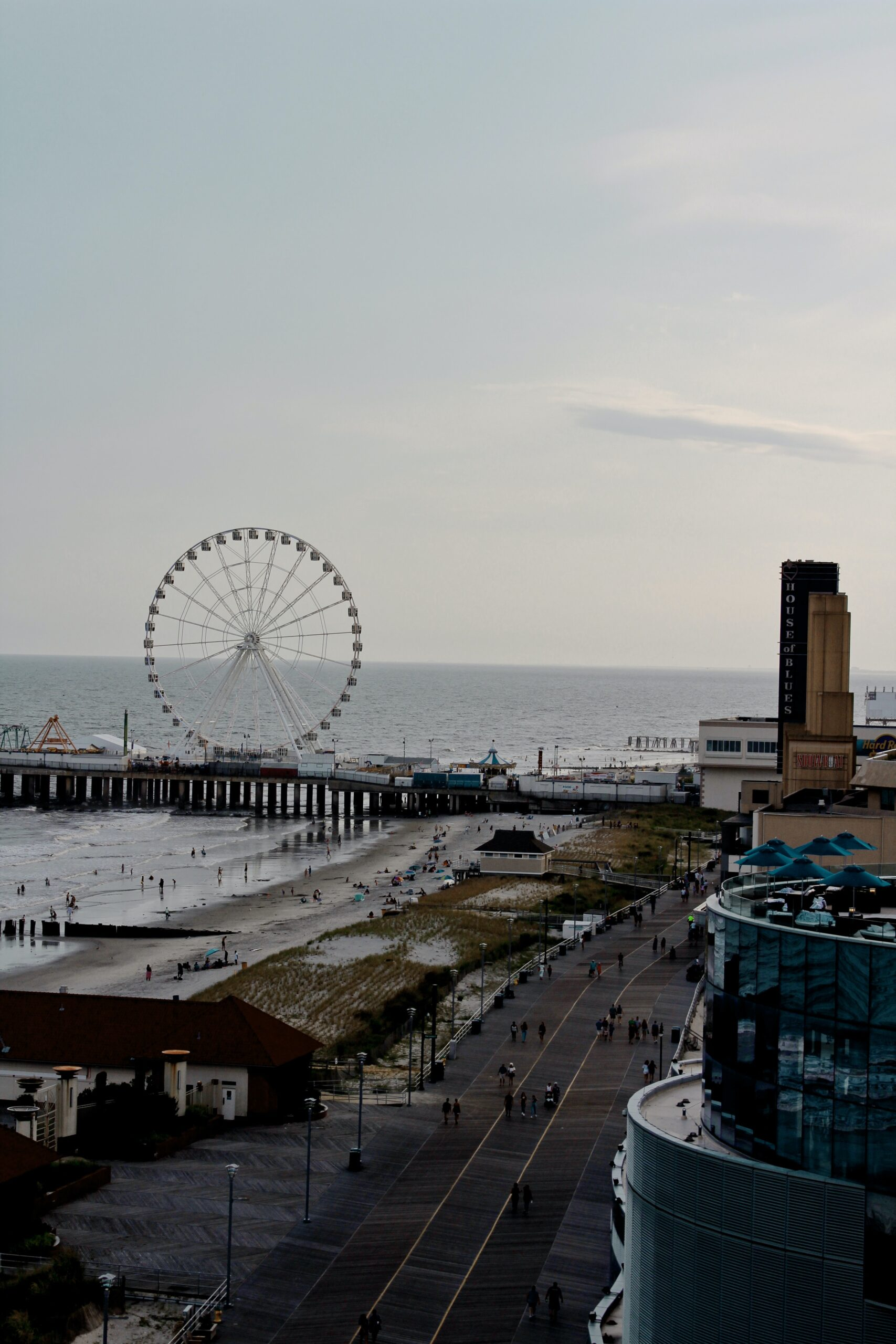 chermel-porter-Atlantic City view of Ferris Wheel and boardwalk-unsplash
