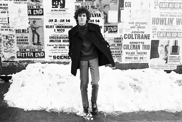 NEW YORK - 1967:  Folk singer Tim Buckley poses for a portrait in Greenwich Village in 1967  in New York City, New York.  (Photo by David Gahr/Getty Images)