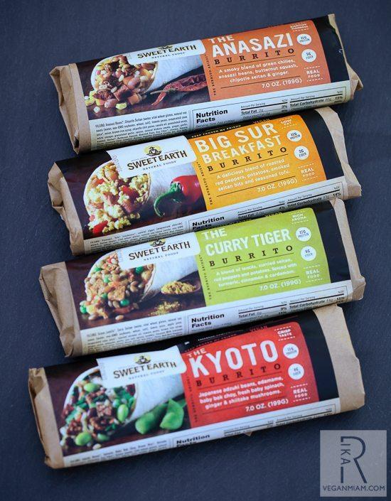 Sweet Earth Brand Burritos