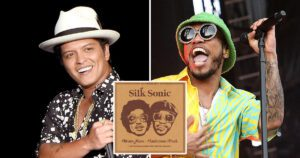 Bruno Mars and Anderson Paak
