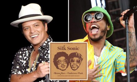 Bruno Mars, Anderson.Paak, Silk sonic-leave the door open