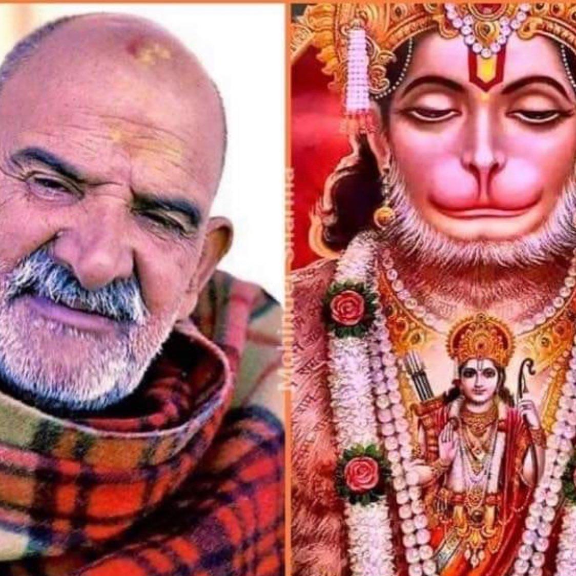 NKB and Hanuman side by Side image for Hanuman Chalisa 40 Day Challenge