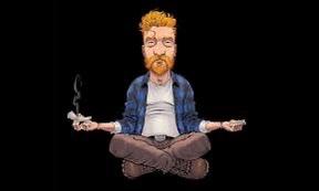 Tyler Childers cartoon