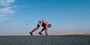 10x fitter and stronger image of runner