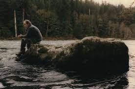 Barry Holstun Lopez by a river