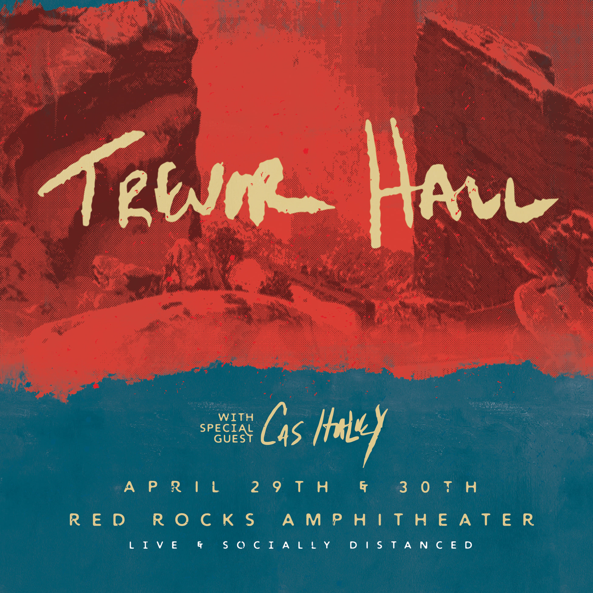 Trevor Hall April 29 and 30Th Red Rocks Ampitheater