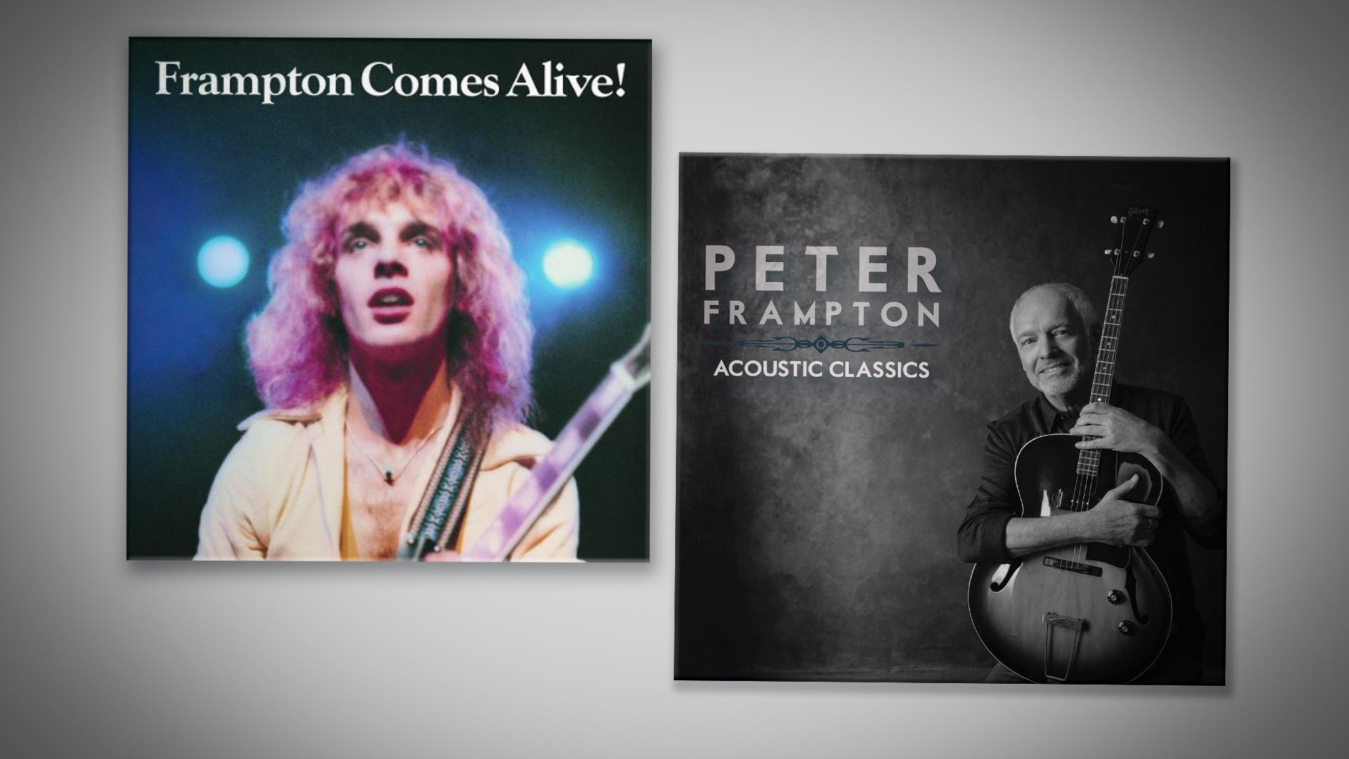 Peter Frampton Comes alive then and now
