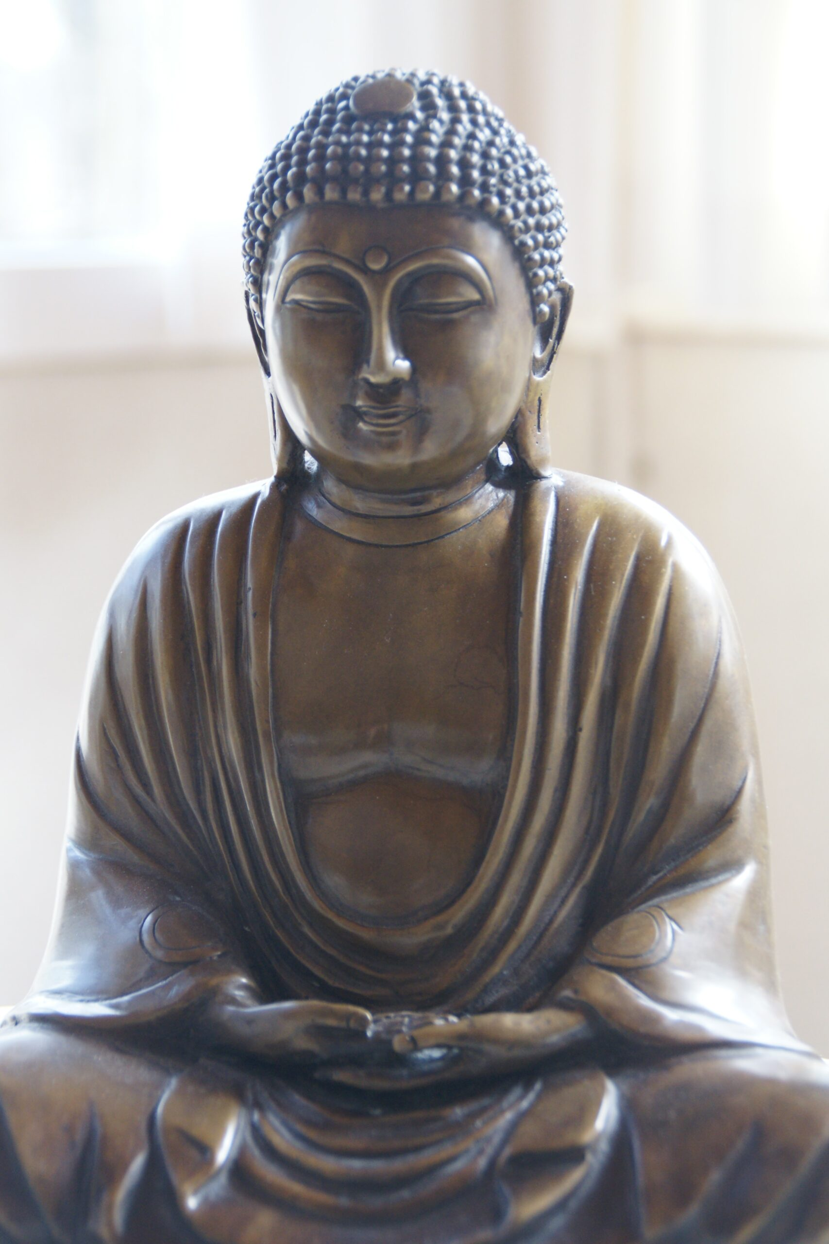 anne-buiskool-Bronze Buddha statue-unsplash