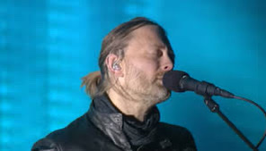 Thom Yorke at Coachellla