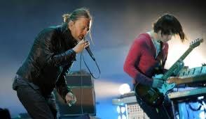 Radiohead Thom Yorke and Jonny Greenwood