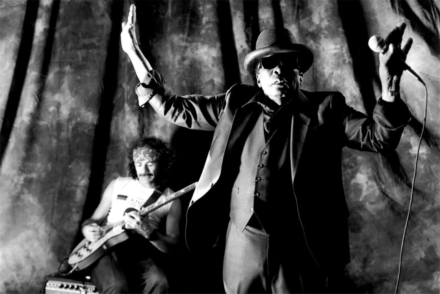 John Lee Hooker with Carlos Santana