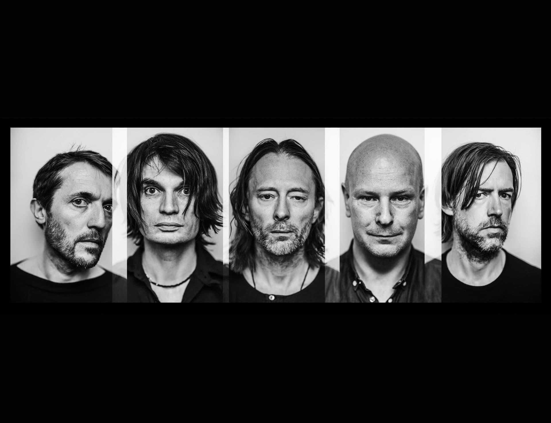 Radiohead Band Wallpaper