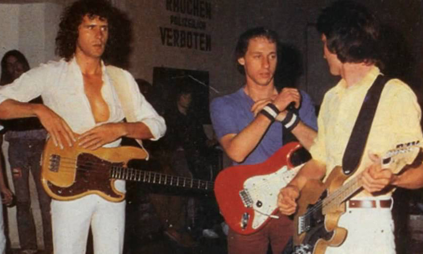 """Together-we-became-""""Sultans-of-Swing""""-Dire Straits"""