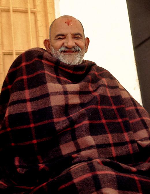 NKB in blanket on tucket