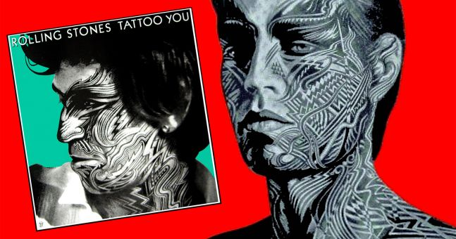 Keith and Mick side by side tattoo you faces