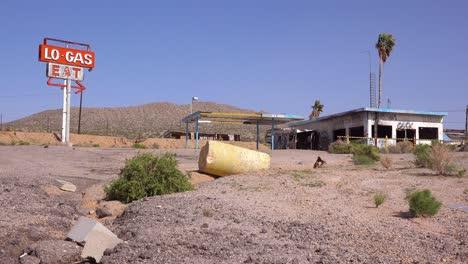 Texaco station in the mojave